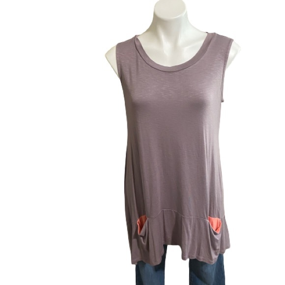 LOGO By Lori Goldstein Tunic With Pockets